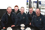 Anto McDonnell, Sean Tester, David Conlon, Paul Murphy and Reg Tester, Drogheda River Rescue at the Launch of the St.Patricks Day Parade in the D Hotel...Photo NEWSFILE/Jenny Matthews.(Photo credit should read Jenny Matthews/NEWSFILE)....This Picture has been sent you under the condtions enclosed by:.Newsfile Ltd..The Studio,.Millmount Abbey,.Drogheda,.Co Meath..Ireland..Tel: +353(0)41-9871240.Fax: +353(0)41-9871260.GSM: +353(0)86-2500958.email: pictures@newsfile.ie.www.newsfile.ie.FTP: 193.120.102.198.