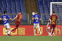 Edin Dzeko of Roma scores a goal <br /> during the Serie A football match between AS Roma and UC Sampdoria at Olimpico stadium in Rome ( Italy ), June 24th, 2020. Play resumes behind closed doors following the outbreak of the coronavirus disease. <br /> Photo Andrea Staccioli / Insidefoto