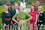 Kerry's top designers will showcase their latest works at Kerry Fashion Weekend. .Front - Kristen McKenzie-Vass with Upfront Models .Back L-R Tricia O'Sullivan (Munster Mobile Hair), Kathryn O'Neill (Make-up Artist), Paul Ruane (Midpoint Creative),  Thys Vogels (Manager of Ballygarry House Hotel), Orla Diffily (Upfront Pr) and List Dennehy (Upfront Pr).