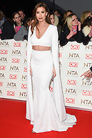 Fern McCann at the National TV Awards 2017 held at the O2 Arena, Greenwich, London. <br /> 25th January  2017<br /> Picture: Steve Vas/Featureflash/SilverHub 0208 004 5359 sales@silverhubmedia.com