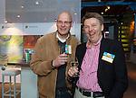 AMERSFOORT - Hans Wognum met Louis Westhof.  Nationaal Golf Congres & Beurs (Het Juiste Spoor) van de NVG.     © Koen Suyk.