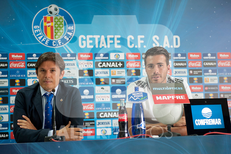 Presentation of Xavi Torres as a new player of Getafe C.F. on August 21th 2012..photo: (ALTERPHOTOS/RICKY BLANCO)