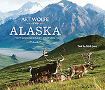 "Art Wolfe's photographic tour of Alaska has become the standard volume of its class. These 150 images take the reader from the lush Southeast to the singular Denali Mountain and across the northern tundra. The tenth anniversary edition of Alaska features gorgeous landscape-format photography, with sections including ""Mountain,"" ""River and Lake,"" ""Tundra,"" ""Sea and Coast,"" ""Forest,"" and ""Island."" With text by Nick Jans."