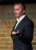 Paddy Lowe during the Williams 2018 F1 Car Launch at Villiage Underground, London, England on 15 February 2018. Photo by Vince  Mignott.