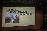 SÃO PAULO, SP, 22.09.214 - COLETIVA DE IMPRENSA CORINTHIANS/ LANÇAMENTO DE CEMITÉRIO DO CLUBE - O Sport Club Corinthians Paulista e o Grupo Memorial lançam um empreendimento funerário voltado para torcedores e ídolos do clube, na tade desta quinta-feira (30), na zona leste de São Paulo. O projeto consiste em um cemitério próprio para torcedores e ídolos, além de um plano funerário com cerimonial temático do clube. (Foto: Taba Benedicto/ Brazil Photo Press)