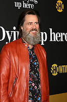 """LOS ANGELES - MAY 31:  Jim Carrey at the Showtime's """"I'm Dying Up Here"""" Premiere at the Directors Guild of America on May 31, 2017 in Los Angeles, CA"""