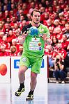 Eskilstuna 2014-05-12 Handboll SM-semifinal 3 Eskilstuna Guif - Alings&aring;s HK :  <br /> Alings&aring;s Jesper Konradsson i aktion <br /> (Foto: Kenta J&ouml;nsson) Nyckelord:  Eskilstuna Guif Sporthallen Alings&aring;s AHK SM Semifinal Semi portr&auml;tt portrait