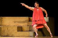 """Pedro Mari Sanchez during theater play """"La Asamblea de las Mujeres"""" at Teatro La Latina in Madrid. August 23 2016. (ALTERPHOTOS/Borja B.Hojas) /NORTEPHOTO.COM"""