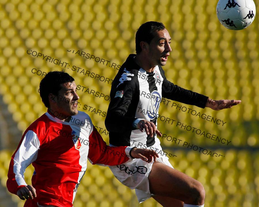 Fudbal,Super liga, sezona 2006-07&amp;#xA;PARTIZAN-VOJVODINA&amp;#xA;BOJAN ZAJIC&amp;#xA;BEOGRAD, 26.11.2006.&amp;#xA;FOTO: SRDJAN STEVANOVIC<br />