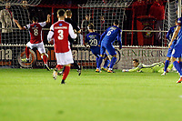 Andy Drury scores 1st goal during Ebbsfleet United vs Leyton Orient, Vanarama National League Football at The PHB Stadium on 11th November 2017