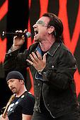 Jul 02, 2005: U2 - Live 8 Hyde Park London