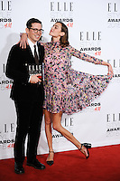 Erdem and Alexa Chung at the Elle Style Awards 2015 at Sky Bar, Walkie Talkie Building, London, 24/02/2015 Picture by: Steve Vas / Featureflash