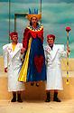 SHARON WHITE,BEN FOX,JAMES LAILEY  IN ALICE,AN ADVENTURE IN WONDERLAND  OPENS REGENTS PARK THEATRE 2/8/00 PIC GERAINT LEWIS