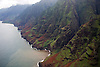 The view of the Napali Coast during a Jack Harter Helicopters tour of the island of Kauai, Hawaii. Photo by Kevin J. Miyazaki/Redux