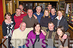 Tom and Rose Bell Countess Road Killarney who are moving to Drogheda were given a farewell party by their friends in Courtney's bar Killarney on Friday night front row l-r: Tom, Rose Bell, Paul Barbara O'Sullivan. Back row: Isabella O'Sullivan, Don O'Donovan, Jerry O'Sullivan, Michael Murphy, Jerome Corkery, Pete O'Sullivan, Mary, Tim Coffey and Irene McCarthy