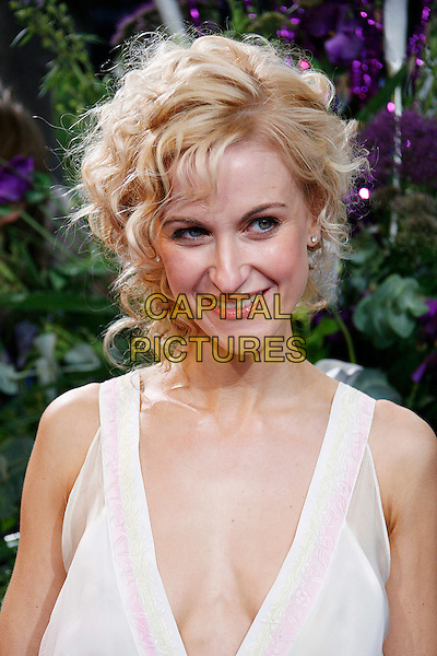 KATHERINE KELLY.The British Soap Awards 2008 BBC Television Centre, Wood Lane, London, England. .May 3rd, 2008.headshot portrait white plunging neckline cleavage .CAP/DAR.©Darwin/Capital Pictures.