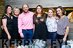 Antoinette Maunsell, Siobhan Stuart, Doctor Peter Van Der Merwe, Doctor Angela O'Donoghue, Valerie Hartnett and Catherine O'Keeffe, Fuchsia Medical Centre, Tralee, enjoying their Christmas party at No. 4 The Square, Tralee, on Friday night last.