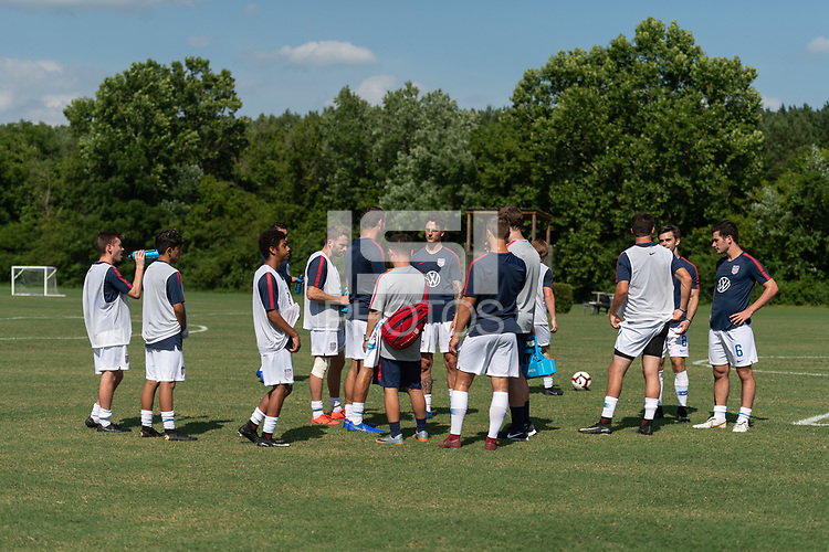 Rome, GA - Friday, June 21, 2019:  Para 7 USMNT during a Para 7 USMNT training session.