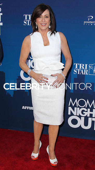 "HOLLYWOOD, LOS ANGELES, CA, USA - APRIL 29: Patricia Heaton at the Los Angeles Premiere Of TriStar Pictures' ""Mom's Night Out"" held at the TCL Chinese Theatre IMAX on April 29, 2014 in Hollywood, Los Angeles, California, United States. (Photo by Xavier Collin/Celebrity Monitor)"