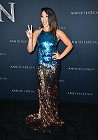 Gina Rodriguez at the premiere for &quot;Annihilation&quot; at the Regency Village Theatre, Los Angeles, USA 13 Feb. 2018<br /> Picture: Paul Smith/Featureflash/SilverHub 0208 004 5359 sales@silverhubmedia.com