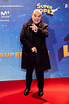 Antonio Resines attends to Super Lopez premiere at Capitol cinema in Madrid, Spain. November 21, 2018. (ALTERPHOTOS/A. Perez Meca)