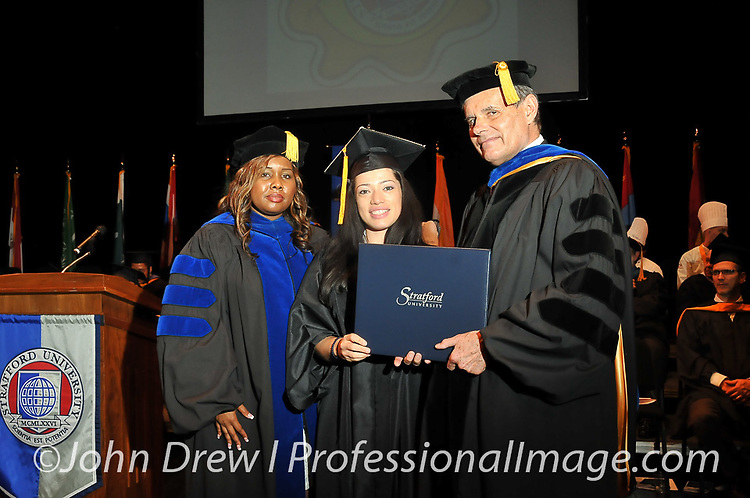 Stratford University Graduation - George Mason University on June 13, 2015.<br />
