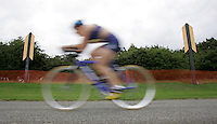 06 AUG 2005 - HOLME PIERREPONT, UK - British Triathlon Club Relay Triathlon Championships. (PHOTO (C) NIGEL FARROW)