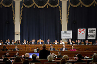 "Marie ""Masha"" Yovanovitch, former United States Ambassador to Kyiv, Ukraine, on behalf of the US Department of State, is sworn-in to testify during the US House Permanent Select Committee on Intelligence public hearing as they investigate the impeachment of US President Donald J. Trump on Capitol Hill in Washington, DC on Friday, November 15, 2019. <br /> Credit: Alex Wong / Pool via CNP/AdMedia"