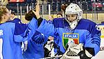 07.01.2020, BLZ Arena, Füssen / Fuessen, GER, IIHF Ice Hockey U18 Women's World Championship DIV I Group A, <br /> Italien (ITA) vs Daenemark (DEN), <br /> im Bild Jubel nach Spielende Martina Fedel (ITA, #25)<br /> <br /> Foto © nordphoto / Hafner