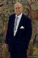 Juan Carlos I of Spain attend the audience with I&ntilde;aki Azkuna Urreta, Mayor of Bilbao, at the Royal Palace of La Zarzuela. In the image I&ntilde;aki Azkuna Urreta (Alterphotos/Marta Gonzalez) /NortePhoto.com<br /> <br />  **CREDITO*OBLIGATORIO** *No*Venta*A*Terceros*<br /> *No*Sale*So*third* ***No*Se*Permite*Hacer Archivo***No*Sale*So*third*