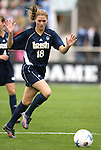 3 December 2006: Notre Dame's Christie Shaner. The University of North Carolina Tarheels defeated the University of Notre Dame Fighting Irish 2-1 at SAS Stadium in Cary, North Carolina in the NCAA Division I Women's College Cup championship game.