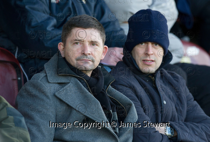 Former Morton manager Allan Moore who is in the frame to take over the manager's position at Stenhousemuir takes his seat in the stand at Ochilview Park to watch Stenny take on East Fife.<br /> <br /> <br /> 15/02/2014   jspa022_smuir_v_efife     <br /> Copyright  Pic : James Stewart   <br /> <br /> James Stewart Photography 19 Carronlea Drive, Falkirk. FK2 8DN      Vat Reg No. 607 6932 25   Tel:  +44 (0)7721 416997<br /> E-mail  :  jim@jspa.co.uk   If you require further information then contact Jim Stewart on any of the numbers above........