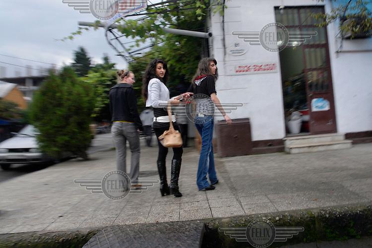 Young women in Batumi....