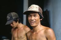 Arbeiter in Saigon, Vietnam