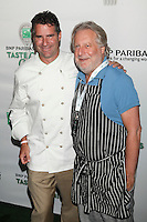 Chefs Kerry Heffernan of Top Chef Mastere Seasonn 4 and Jonathan Waxman of Barbuto attend the 13th Annual 'BNP Paribas Taste of Tennis' at the W New York.  New York City, August 23, 2012. © Diego Corredor/MediaPunch Inc. /NortePhoto.com<br />