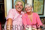 Joe Flaherty and June Brosnan enjoying the evening in the Brogue Inn on Sunday.