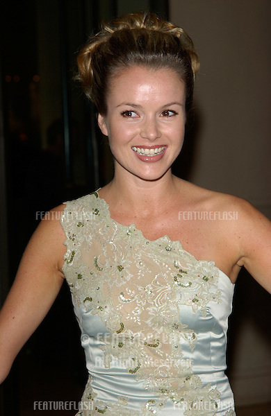 Actress AMANDA HOLDEN at the 11th Annual BAFTA/LA Britannia Awards at the Beverly Hills Hilton..12APR2002.  © Paul Smith / Featureflash