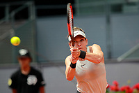 Simon Halep, Romania, during Madrid Open Tennis 2018 match. May 8, 2018.(ALTERPHOTOS/Acero) /NortePhoto.com
