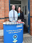 Michael Johnson and Edel Morgan from Bank of Ireland pictured during the Ardee Bonanza weekend. Photo:Colin Bell/pressphotos.ie