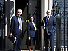 Cabinet Meeting arrivals in Downing Street London Great Britain<br /> 12th May 2015 <br /> <br /> Arrivals of the new government ministers at the first cabinet of the new Conservative government. <br /> <br /> Michael Gove <br /> Priti Patel<br /> Iain Duncan Smith <br /> <br /> Photograph by Elliott Franks <br /> Image licensed to Elliott Franks Photography Services