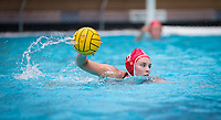 STANFORD, CA - April 20, 2019: Hannah Shabb at Avery Aquatic Center. The #1 Stanford Cardinal took down the #20 San Jose State Spartans 22-4.