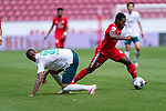 Ridle Baku (FSV Mainz 05 #34), Marco Friedl (Werder Bremen #32)<br /> <br /> <br /> Sport: nphgm001: Fussball: 1. Bundesliga: Saison 19/20: 33. Spieltag: 1. FSV Mainz 05 vs SV Werder Bremen 20.06.2020<br /> <br /> Foto: gumzmedia/nordphoto/POOL <br /> <br /> DFL regulations prohibit any use of photographs as image sequences and/or quasi-video.<br /> EDITORIAL USE ONLY<br /> National and international News-Agencies OUT.