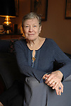 Paula Fox at home in Brooklyn, U.S.A.