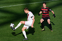 Chester, PA - Sunday December 10, 2017: Grant Lillard. Stanford University defeated Indiana University 1-0 in double overtime during the NCAA 2017 Men's College Cup championship match at Talen Energy Stadium.