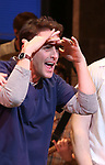 "Joey McIntyre during his debut bows in Broadway's  ""Waitress"" at The Brooks Atkinson Theatre on February 4, 2019 in New York City."