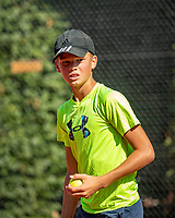 Hilversum, Netherlands, Juli 29, 2019, Tulip Tennis center, National Junior Tennis Championships 12 and 14 years, NJK, Sander Paradis (NED)<br /> Photo: Tennisimages/Henk Koster