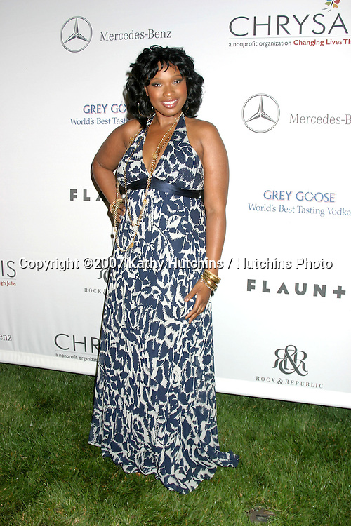 Jennifer Hudson.6th Annual Chrysalis Butterfly Ball.Private Home of Susan Harris & Hayward Kaiser.Brentwood, CA.June 2, 2007.©2007 Kathy Hutchins / Hutchins Photo....
