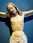Crucifixion of Christ sculpture, Academy Gallery, Venice, Italy