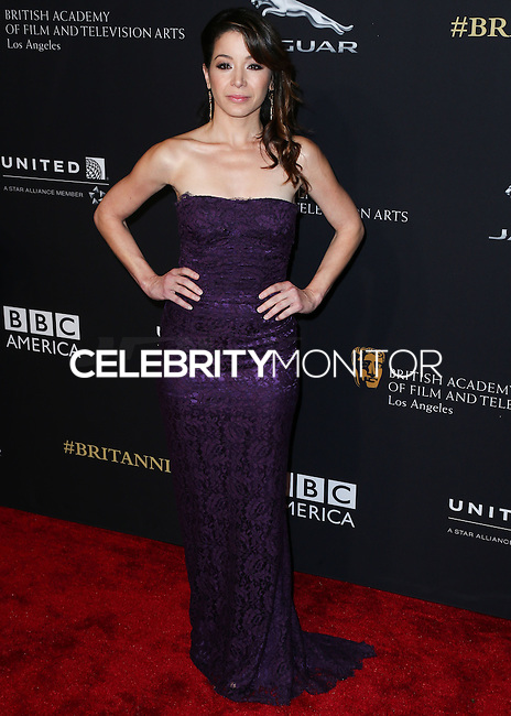 BEVERLY HILLS, CA, USA - OCTOBER 30: Katherine Castro arrives at the 2014 BAFTA Los Angeles Jaguar Britannia Awards Presented By BBC America And United Airlines held at The Beverly Hilton Hotel on October 30, 2014 in Beverly Hills, California, United States. (Photo by Xavier Collin/Celebrity Monitor)