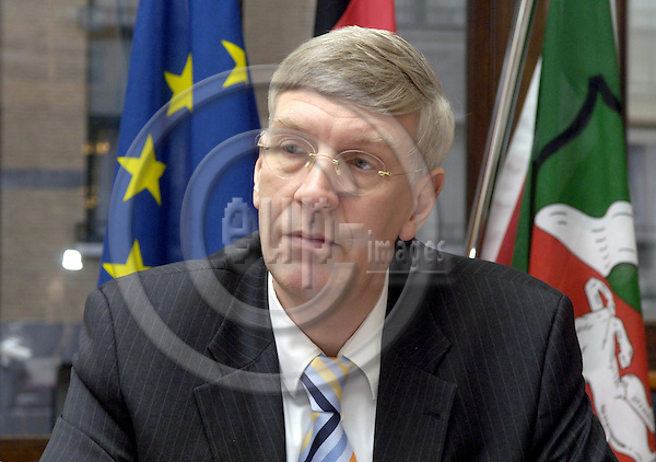 Brussels-Belgium - 23 November 2006---Dr. Ingo WOLF, Minister for the Interior and Sports of NRW (Nordrhein-Westfalen / North Rhine-Westphalia)---Photo: Horst Wagner/eup-images